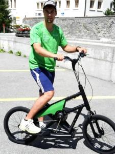 Félicitations à Sandro Viletta pour sa médaille d'or à Sotchi ! Le médaillé olympique complète lui aussi ses entraînements en streetstepper