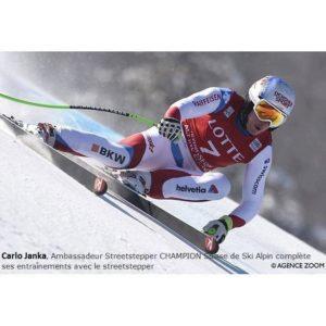 carlo janka streetstepper champion ski