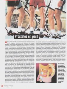 Prostate en péril: voila encore une bonne raison d'utiliser le Streetstepper ! Par le docteur Christian DAULOUÈDE article médical sport et vie numéro 146