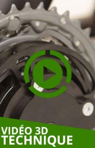 Transmission streetstepper: vidéo 3D technique