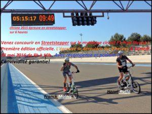 challenge en streetstepper première course officielle