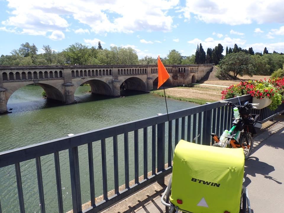 Périple en Streetstepper de Jacky Adam 8 jours pour faire l'aller retour Garons Toulouse Garons et environ 650kms