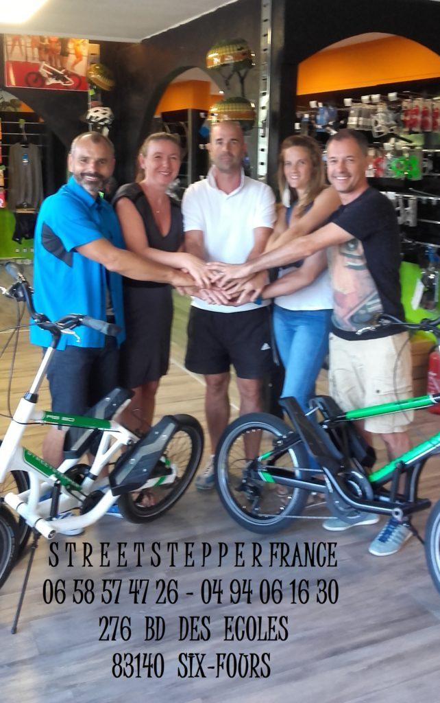 Nouveaux propriétaires de Streetstepper France.
